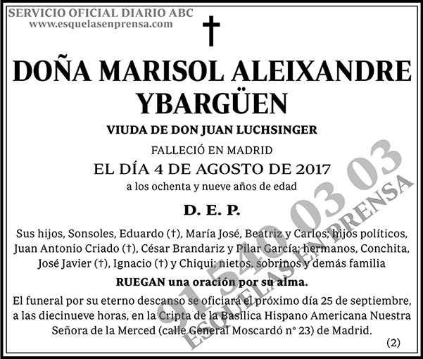 Marisol Aleixandre Ybargüen